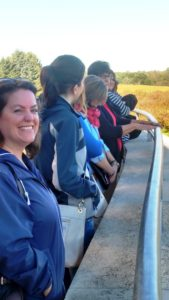 Members of the Cornhusker NAMA Chapter enjoy a picture-perfect outdoor fall outing to Arbor Farms, Nebraska City. The group enjoyed spectacular views of the famed 260-acre farm from the scenic outlook of Lied Lodge