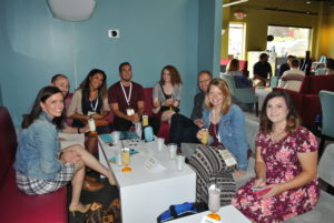 Networking is a huge part of the NAMA Boot Camp. Attendees enjoyed fun, frozen cocktails at Snow & Company while getting to know their peers.