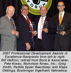 2007 Awards of Excellence Winners